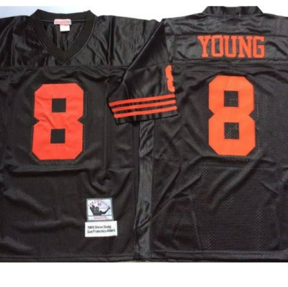 low cost 6637c fc09d Steve young throwback nwot